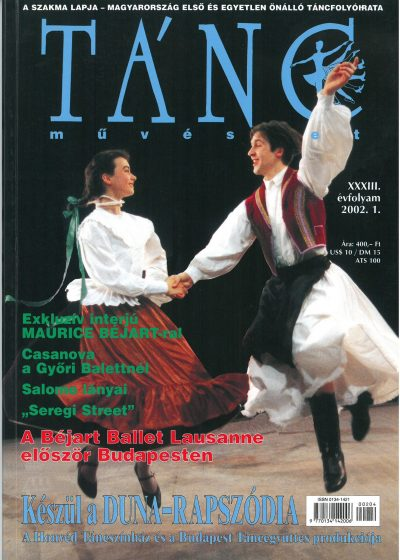 tancmuveszet-2002-1-címlap
