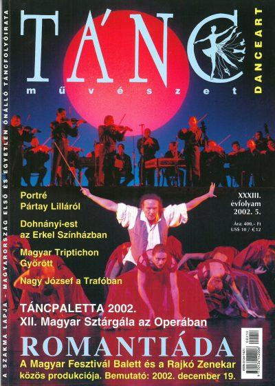 tancmuveszet-2002-5-címlap