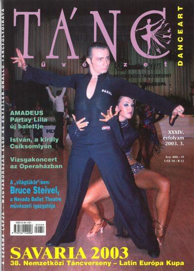 tancmuveszet-2003-3-címlap