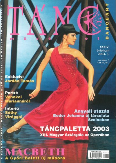 tancmuveszet-2003-5-címlap