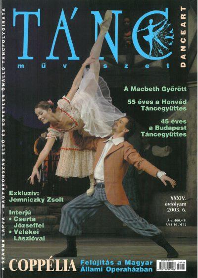 tancmuveszet-2003-6-címlap