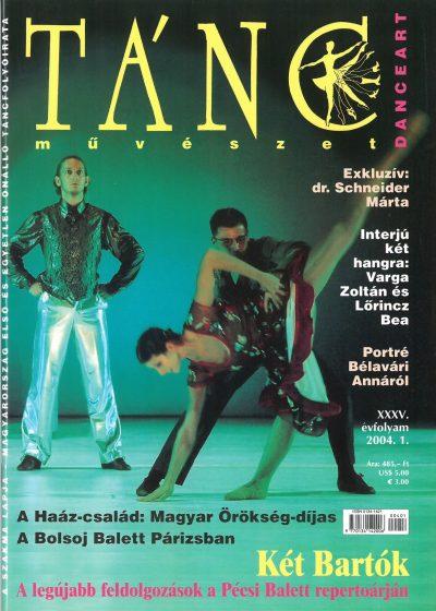tancmuveszet-2004-1-címlap