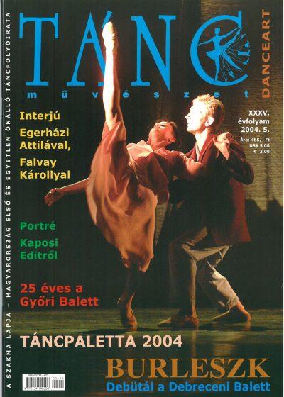 tancmuveszet-2004-5-címlap