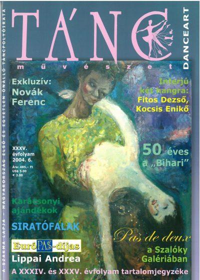 tancmuveszet-2004-6-címlap