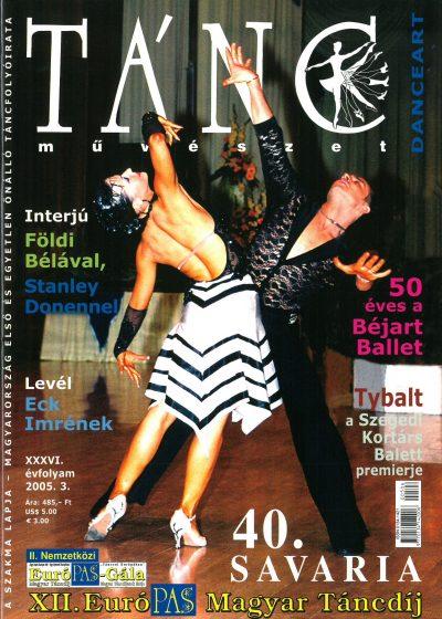 tancmuveszet-2005-3-címlap