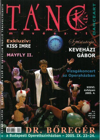 tancmuveszet-2005-4-címlap