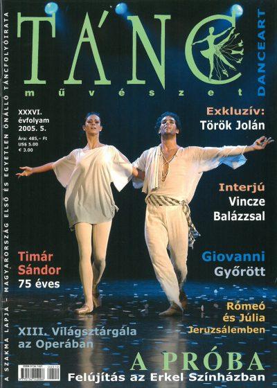 tancmuveszet-2005-5-címlap