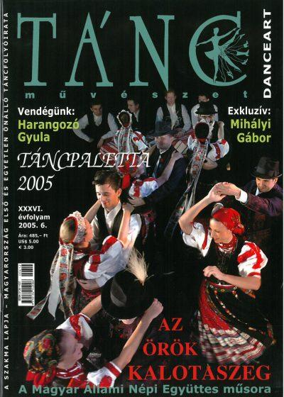 tancmuveszet-2005-6-címlap