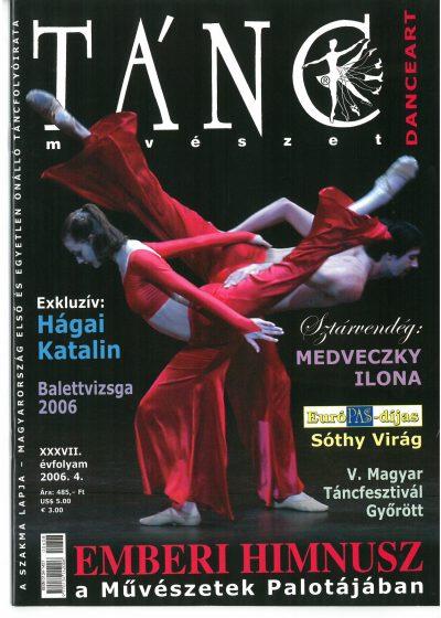 tancmuveszet-2006-4-címlap