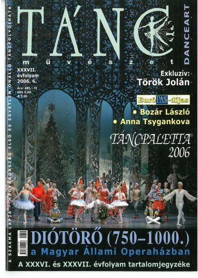 tancmuveszet-2006-6-címlap