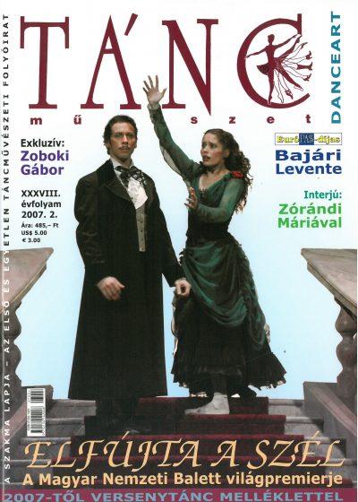 tancmuveszet-2007-2-címlap