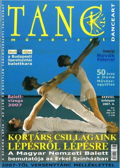 tancmuveszet-2007-4-címlap