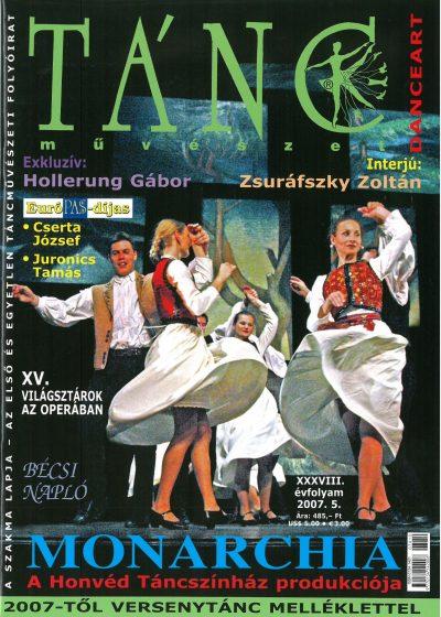 tancmuveszet-2007-5-címlap