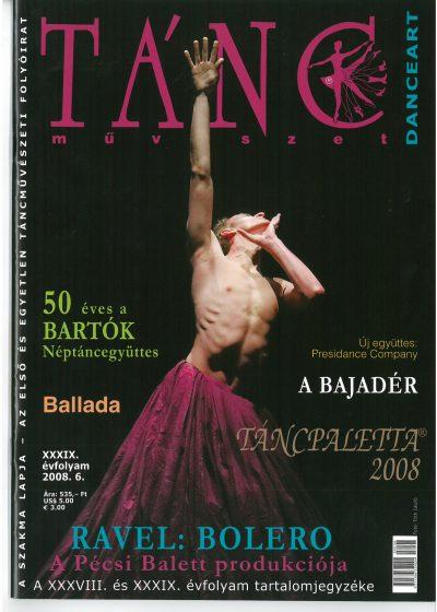 tancmuveszet-2008-6-címlap