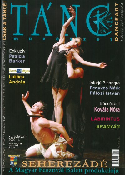 tancmuveszet-2009-1-címlap