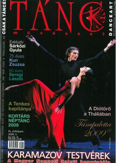 tancmuveszet-2009-5-címlap