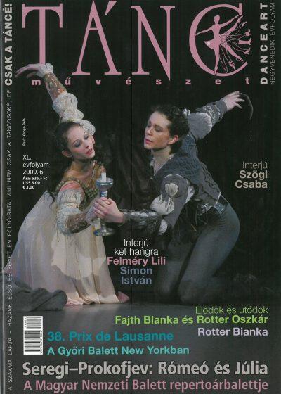 tancmuveszet-2009-6-címlap