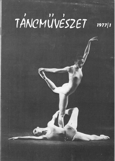 tancmuveszet-1977-1-címlap
