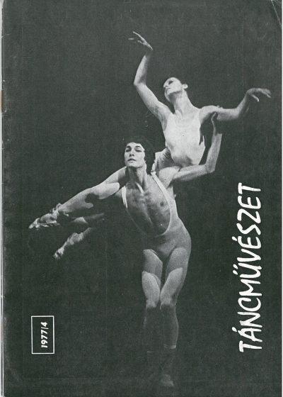 tancmuveszet-1977-4-címlap