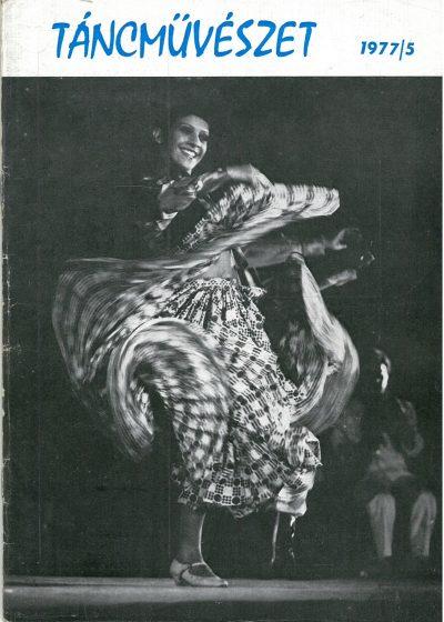 tancmuveszet-1977-5-címlap
