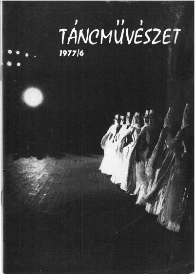 tancmuveszet-1977-6-címlap