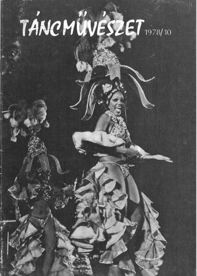 tancmuveszet-1978-10-címlap