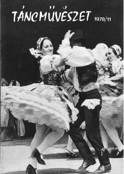 tancmuveszet-1978-11-címlap