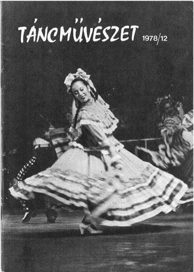 tancmuveszet-1978-12-címlap