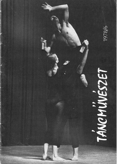 tancmuveszet-1978-6-címlap