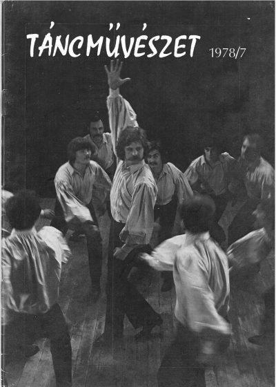 tancmuveszet-1978-7-címlap