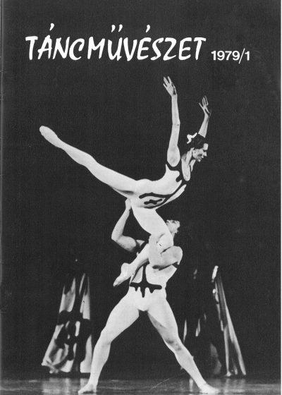 tancmuveszet-1979-1-címlap