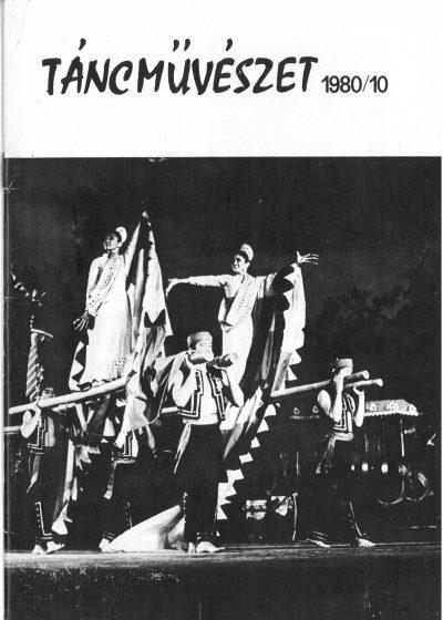 tancmuveszet-1980-10-címlap