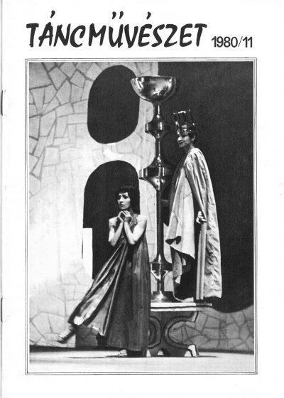 tancmuveszet-1980-11-címlap