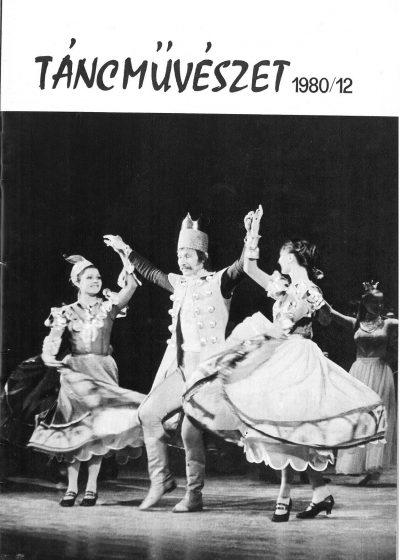 tancmuveszet-1980-12-címlap