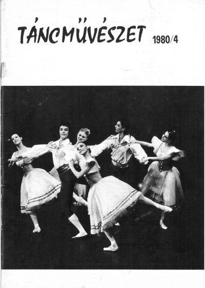 tancmuveszet-1980-4-címlap