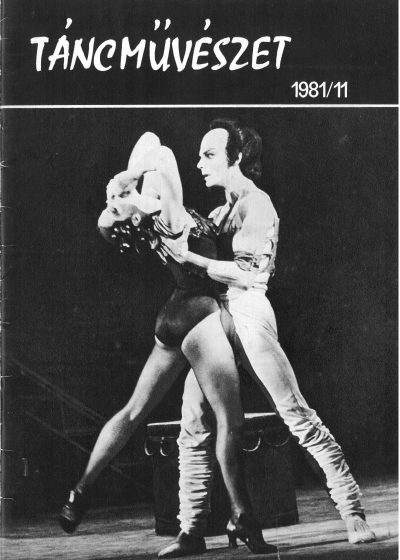 tancmuveszet-1981-11-címlap