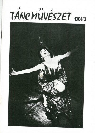 tancmuveszet-1981-3-címlap