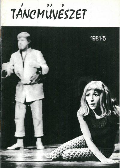 tancmuveszet-1981-5-címlap
