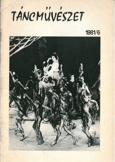 tancmuveszet-1981-6-címlap