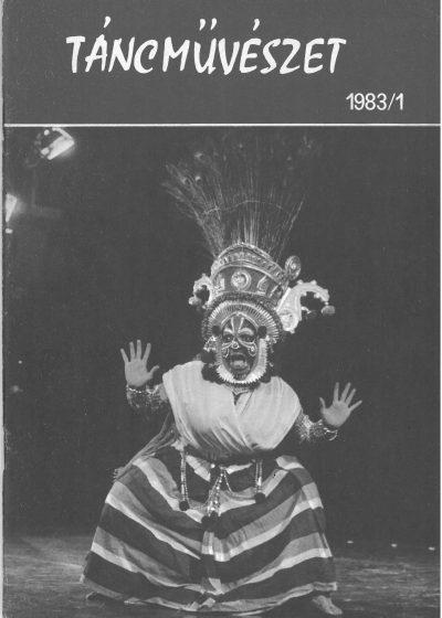 tancmuveszet-1983-3-címlap