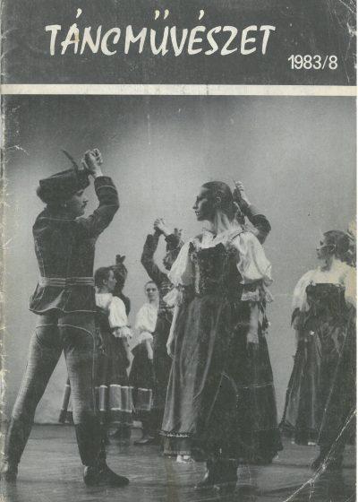 tancmuveszet-1983-8-címlap