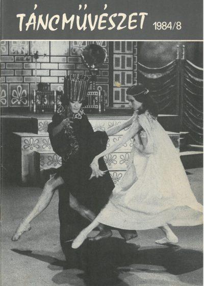 tancmuveszet-1984-8-címlap