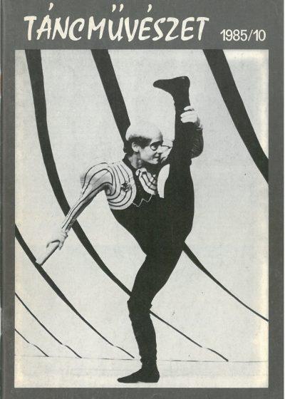 tancmuveszet-1985-10-címlap