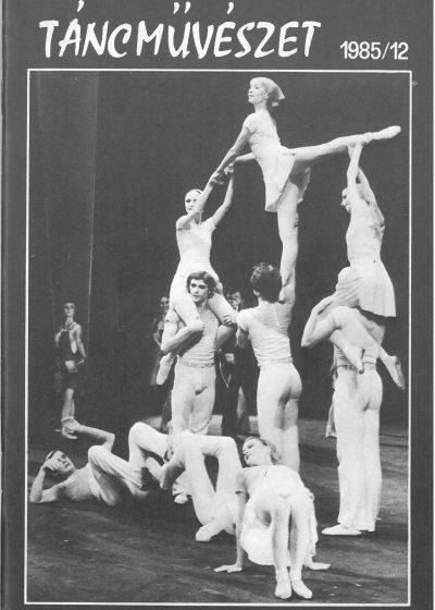 tancmuveszet-1985-12-címlap