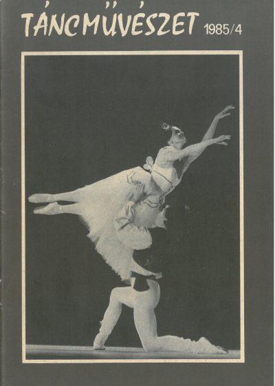 tancmuveszet-1985-4-címlap