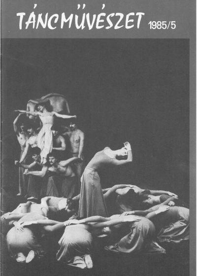 tancmuveszet-1985-5-címlap
