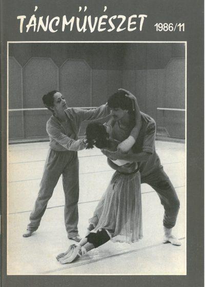 tancmuveszet-1986-11-címlap