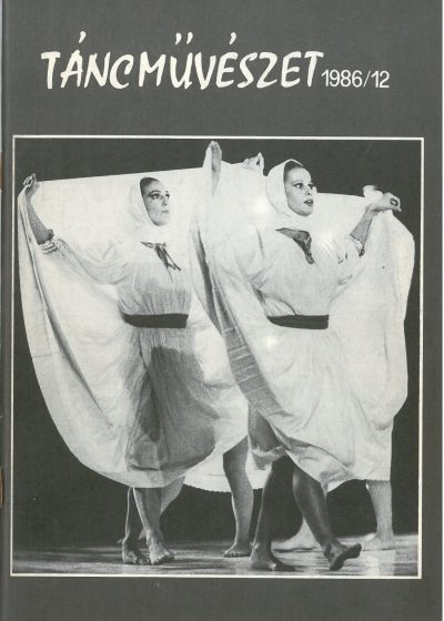 tancmuveszet-1986-12-címlap