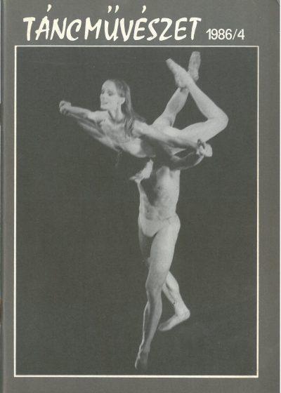 tancmuveszet-1986-4-címlap