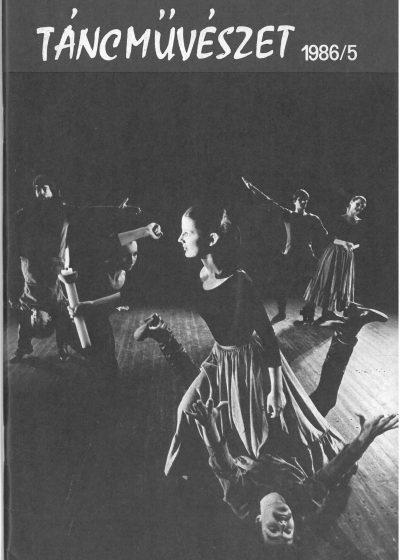 tancmuveszet-1986-5-címlap